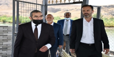 Secretary-General of the Kurdistan Islamic Union visits the 16th center in Koysinjaq