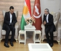 The Secretary-General of Kurdistan Islamic Union receives the Consul of the Islamic Republic of Iran in Sulaymaniyah