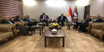 Kurdistan Islamic Union receives a delegation of the Change Movement