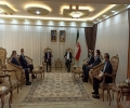 A delegation of the Kurdistan Islamic Union visits the Iranian consulate in Erbil