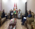 Head of the KIU bloc in the Kurdistan Parliament receives a UN delegation
