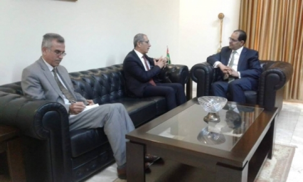 A delegation of the Kurdistan Islamic Union visits the Jordanian consulate
