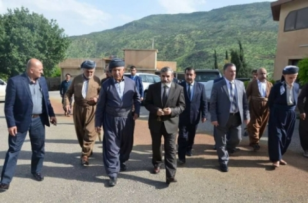 Secretary-General of the Kurdistan Islamic Union visits a number of dignitaries and tribal leaders