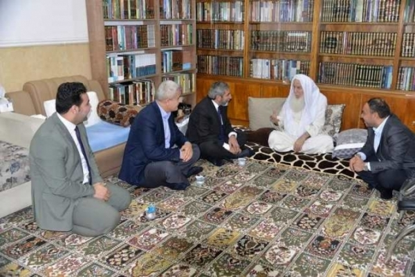 Secretary-General of the KIU visits a number of religious scholars in Erbil