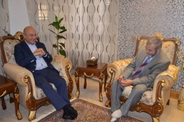 The Secretary-General discusses the latest political developments with the Deputy Secretary-General of the PUK