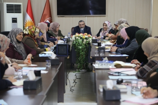 Secretary-General of the KIU meets with the Islamic Union of Kurdistan Sisters