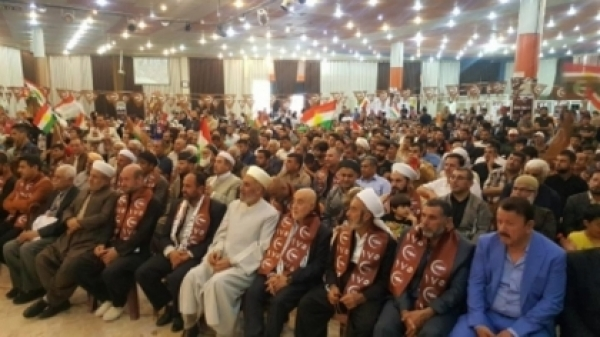 Mass festival in Kirkuk in support of candidates for the electoral list 175
