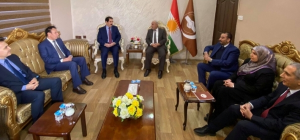 A delegation of the Kurdistan Democratic Party visits the Kurdistan Islamic Union
