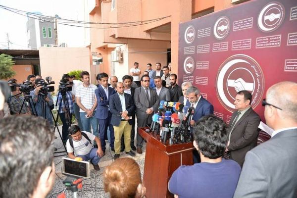 Six political parties reject the election results and demand a repeat of the elections