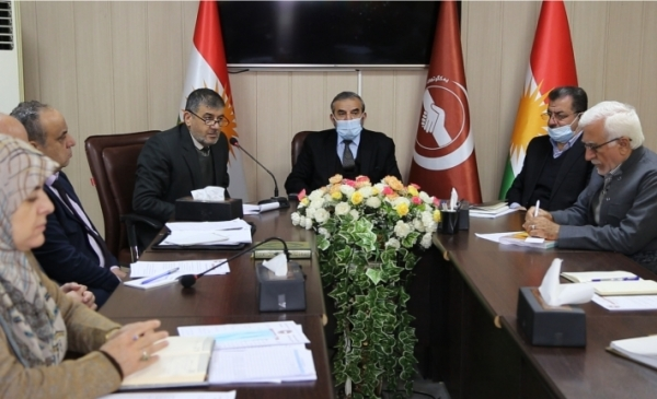 Secretary-General of the Kurdistan Islamic Union meets with the Educational and Organizational Council