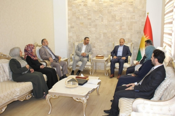 Kurdistan Islamic Union bloc visits a group of parliamentary blocs