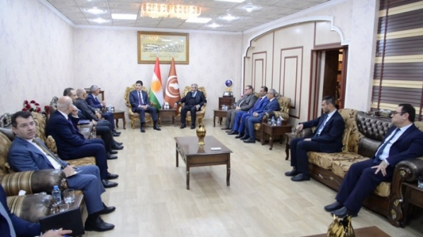 Secretary-General of the Kurdistan Islamic Union receives the President of the Kurdistan Region