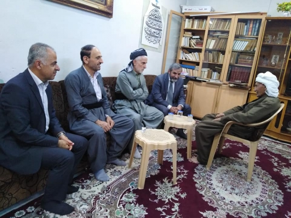 Secretary-General of the KIU visits Sheikh Fayek Qaynjani