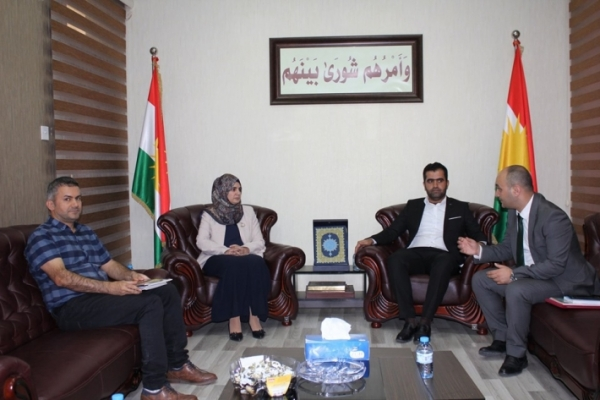 "Kurdistan Islamic Union bloc receives ""Stop"" Organization for Anti-Corruption"