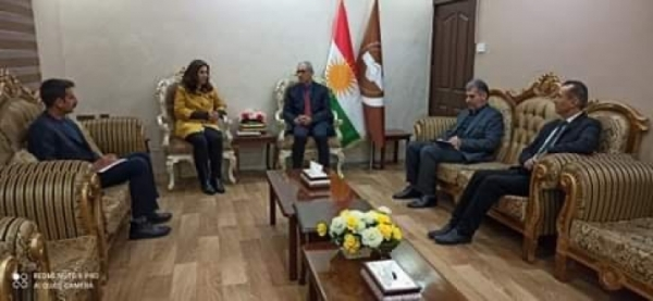 Kurdistan Islamic Union receives a delegation of the Peoples' Democratic Party