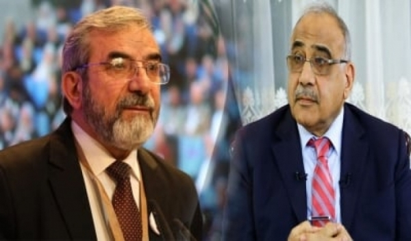 Adel Abdul-Mahdi congratulates Secretary-General of Kurdistan Islamic Union