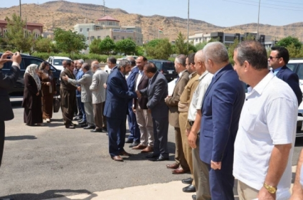 Secretary-General of the KIU arrives in Dohuk in an inspection visit