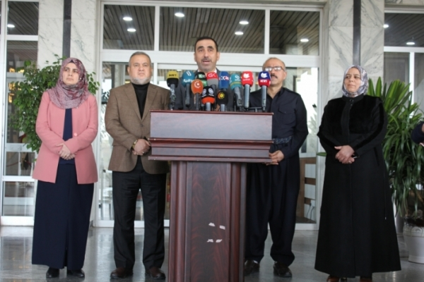 KIU bloc proposes a road map to restore the prestige of Kurdistan Parliament
