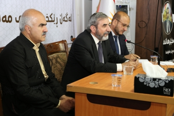 Secretary-General of the Kurdistan Islamic Union visits Garmian