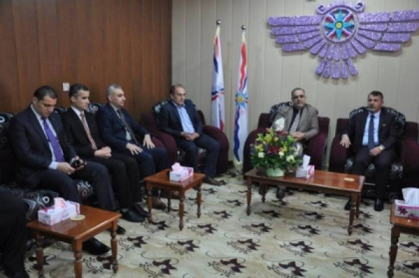 Dohuk ... Kurdistan Islamic Union visits the Assyrian Democratic Movement