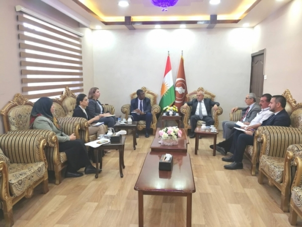 Kurdistan Islamic Union receives a delegation from the United Nations