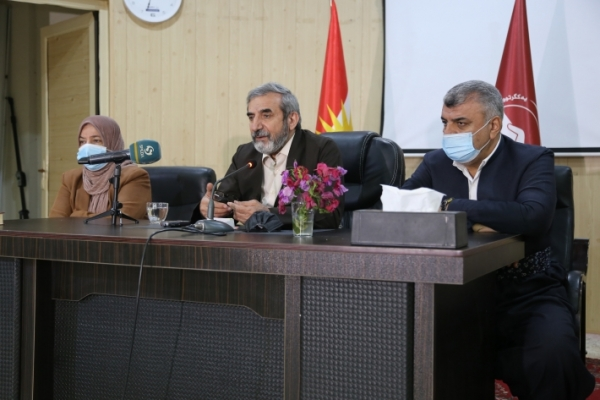General-Secretary of the Kurdistan Islamic Union meets with party cadres in the city of Halabja