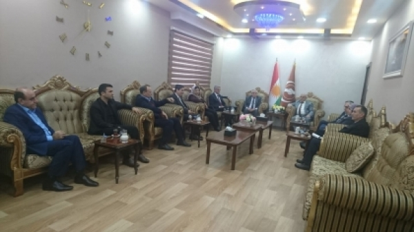 The Political Council receives the National Council of the Syrian Kurdish