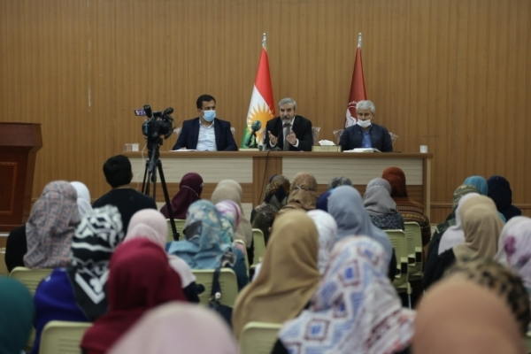 Secretary-General of the Kurdistan Islamic Union meets with Union cadres in Sulaymaniyah
