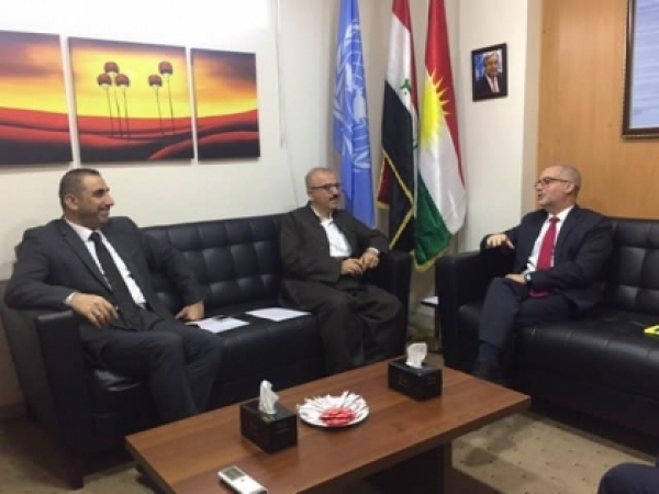 Kurdistan Islamic Union bloc visits UN Regional Office