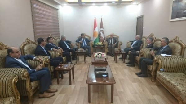 Kurdistan Islamic Union receives a delegation of the Kurdish reform movement in Syria