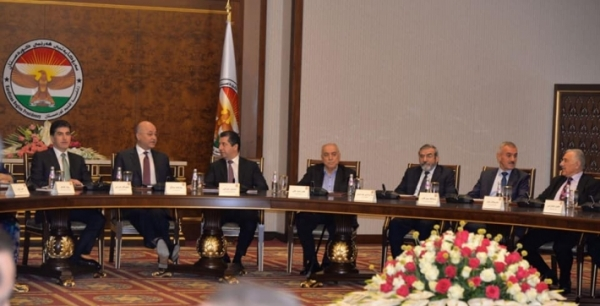 Secretary-General of the Kurdistan Islamic Union participates in the meeting of the President of the Republic