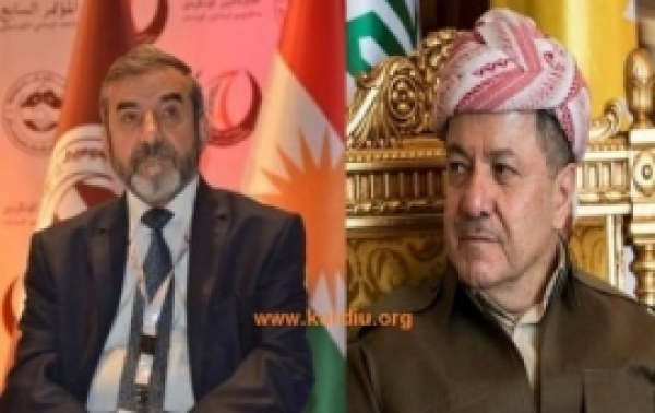 Barzani congratulates Secretary-General of Kurdistan Islamic Union
