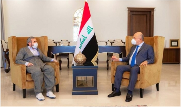 Secretary-General of the Kurdistan Islamic Union visits the President of the Republic of Iraq