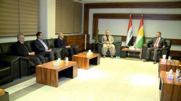 A delegation of the Kurdistan Islamic Union to visit Sulaymaniyah governor